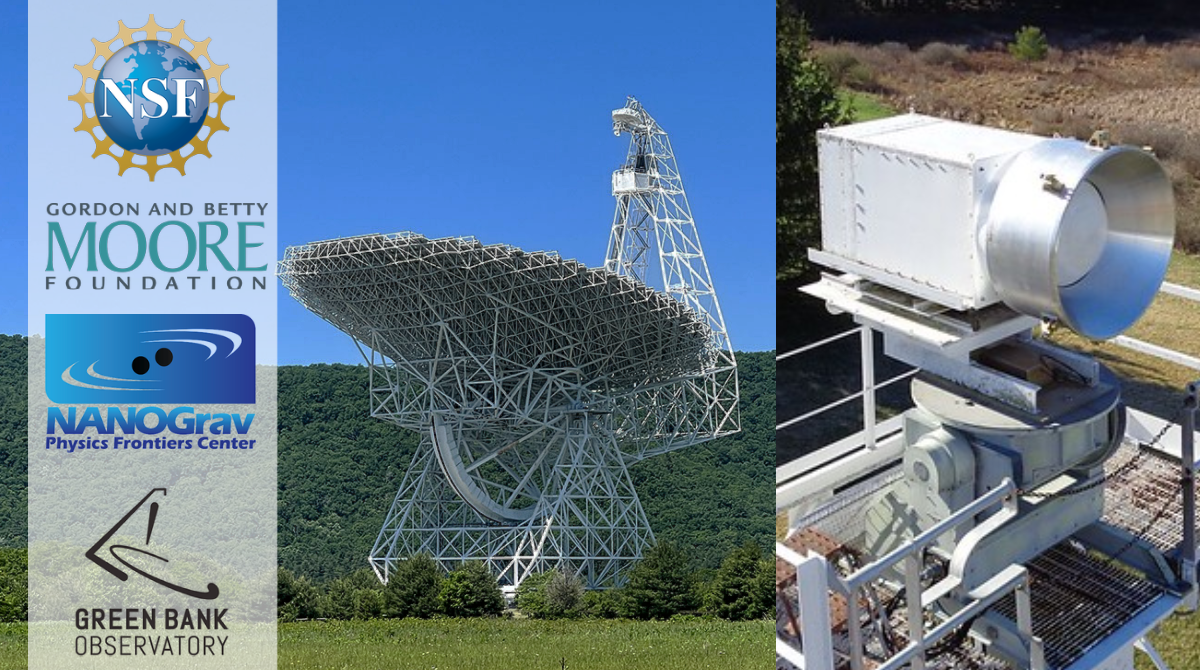 Moore Foundation Partners with NANOGrav PFC and Green Bank Observatory